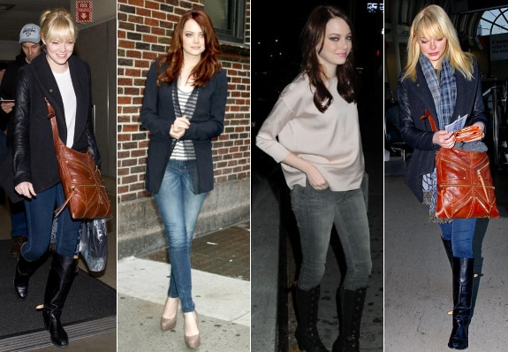 Emma Stone Everyday Casual Looks