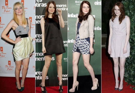 Emma Stone Short Dresses