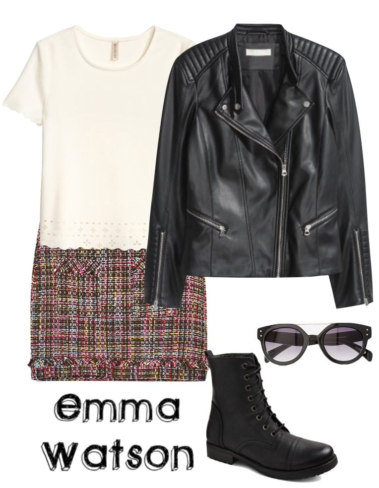 Outfit inspired by Emma Watson's style