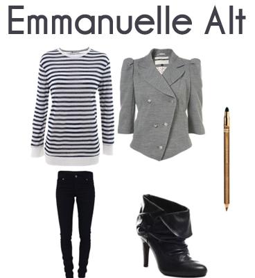 Emmanuelle Alt outfit