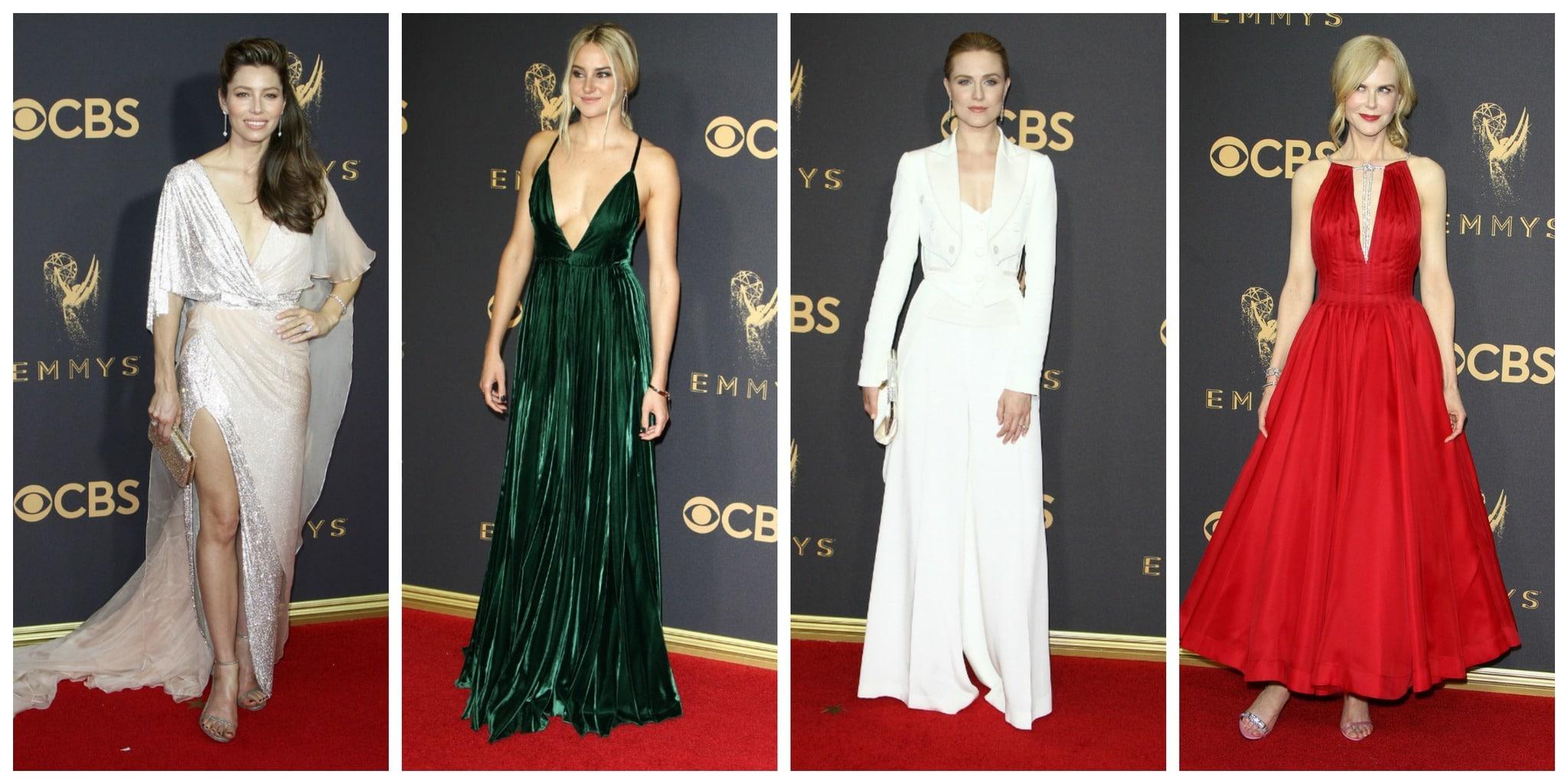 Emmys 2017 Best Dressed: Jessica Biel, Shailene Woodley, Evan Rachel Wood, Nicole Kidman