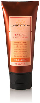 Bath and Body Works Energy Hand Cream in Orange