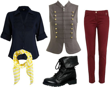 Outfit inspired by Enjolras from Les Miserables