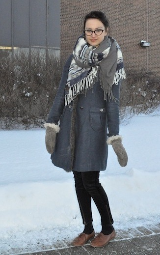 Erin, a college fashionista from Humber College