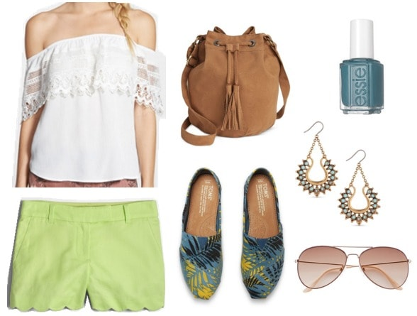 Essie Pool Side Service Outfit
