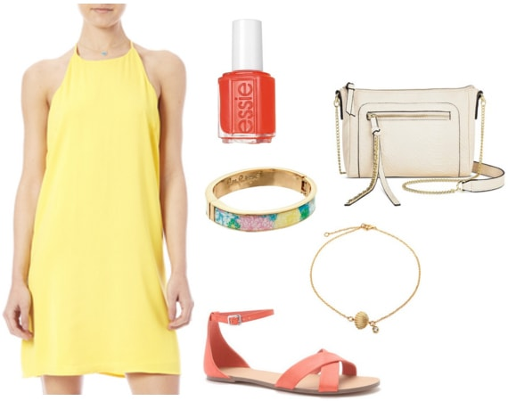 Essie Sunshine State of Mind Outfit