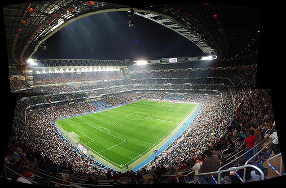 Estadio de santiago bernabeu