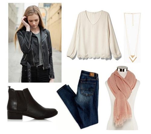 European adventures outfit