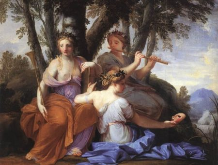 Eustache Le Sueur- The muses