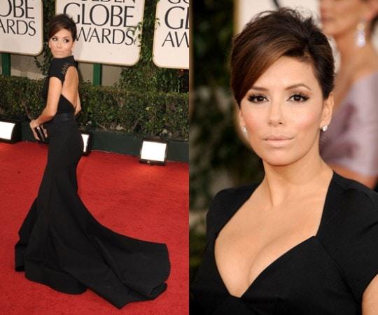Eva Longoria 2011 Golden Globes