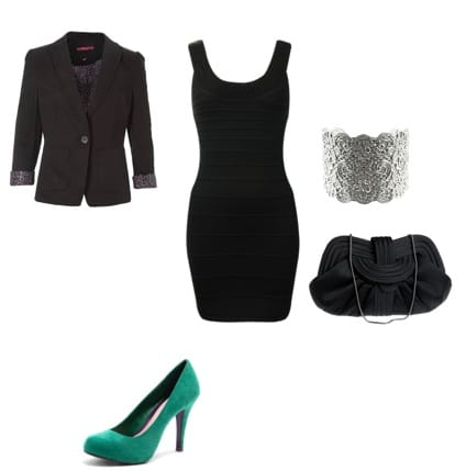 Evening Outfit Inspired by Kim Kardashian