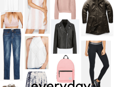 Everyday clothes for college: The ultimate list of college wardrobe essentials and what clothes to buy for college