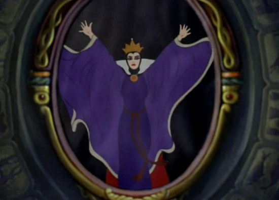 Evil Queen and Mirror