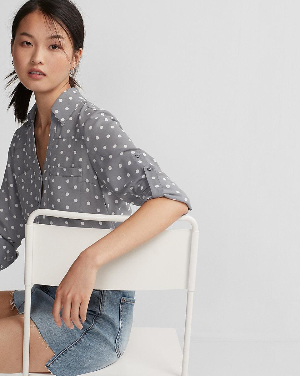 Express Polka Dot Shirt