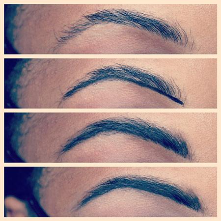 Video tutorial: Use gel eyeliner to define brows!
