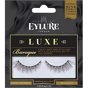 Eylure Luxe Faux Mink Lashes in Baroque
