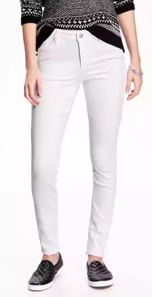 Fabulous Find Old Navy white jeans