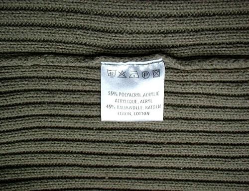 Fabric label