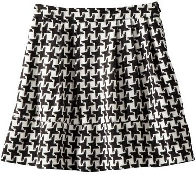 Fabulous find target houndstooth skirt