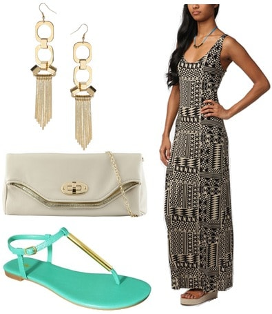 fabulous find target poeske flat sandals outfit 3
