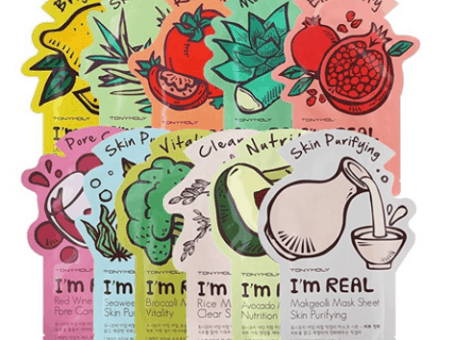 TONYMOLY's I'm Real Sheet Masks