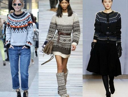 Trend Watch: Fair Isle Prints