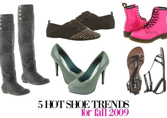 Fall 2009 Shoe Trends