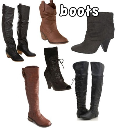 Fall 2010 boots