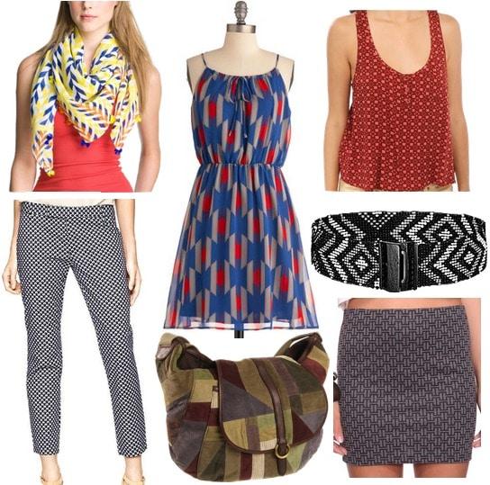 Fall 2012 Fashion Trend Geometric Prints