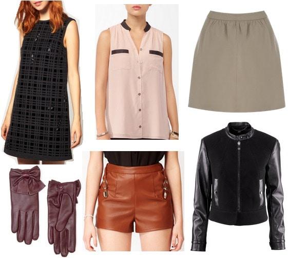 Fall 2012 Fashion Trend Leather