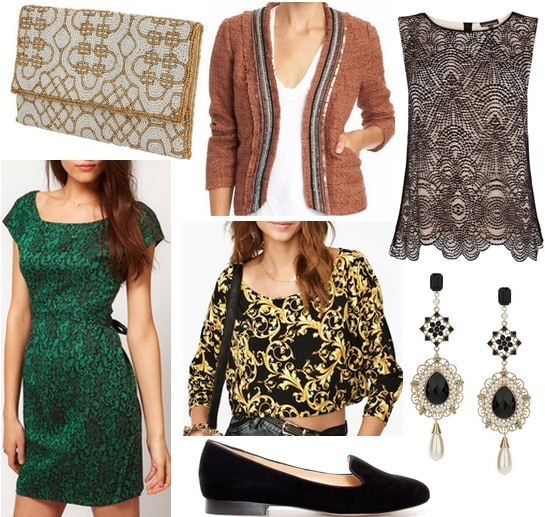 Fall 2012 Fashion Trend Luxe Details