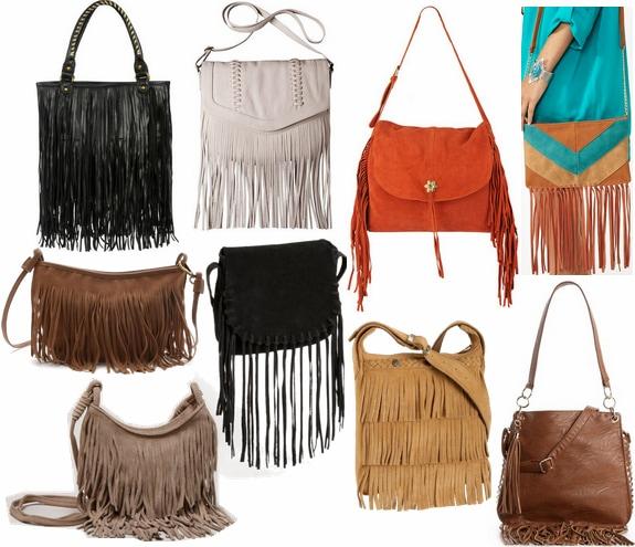 fall 2012 handbag trend fringe