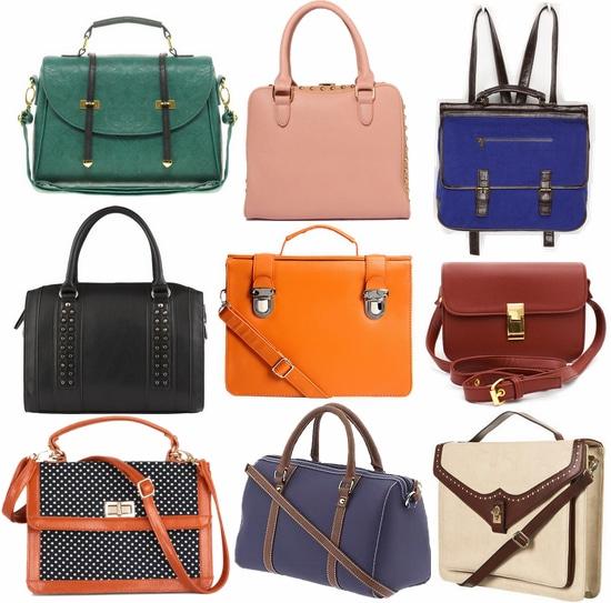 fall 2012 handbag trend structured satchels