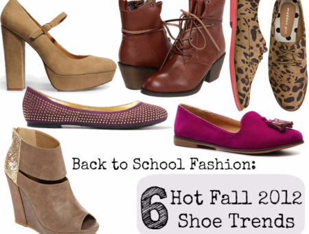 fall 2012 shoe trends