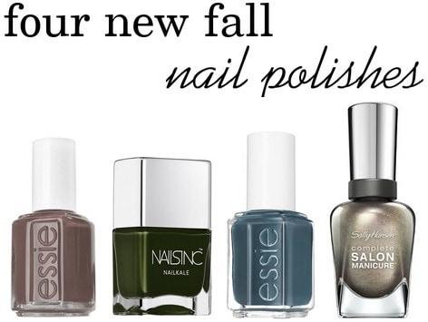 Fall 2014 nail polishes