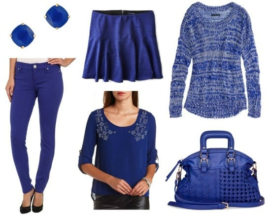 Fall 2014 royal blue color trend