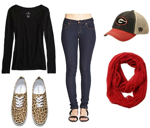 Fall Football game outfit