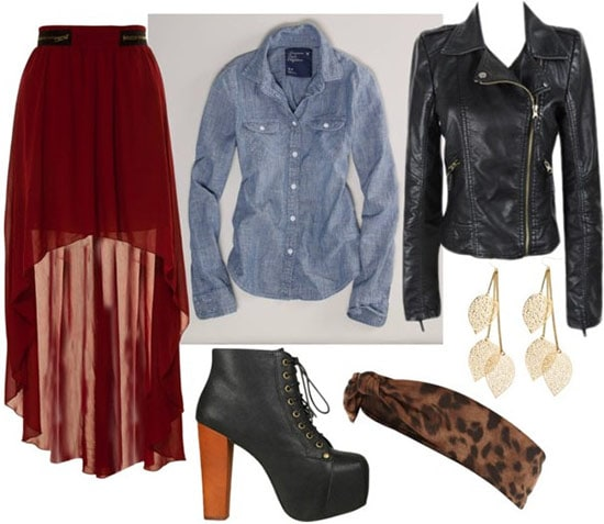 Fall layering outfit 4