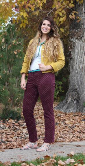 Fall style at BYU