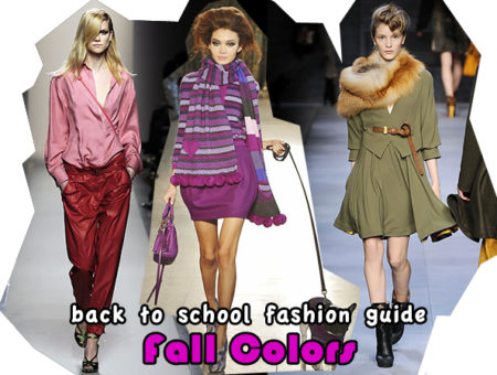 Hottest colors for fall 2010