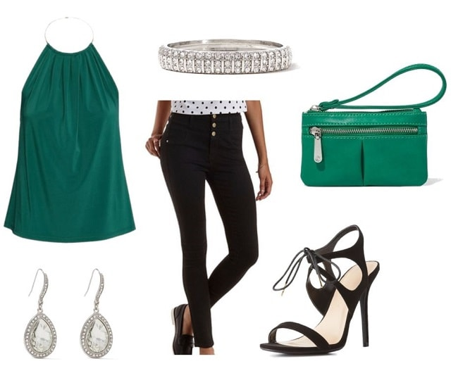Fancy outfit for St. Paddies day