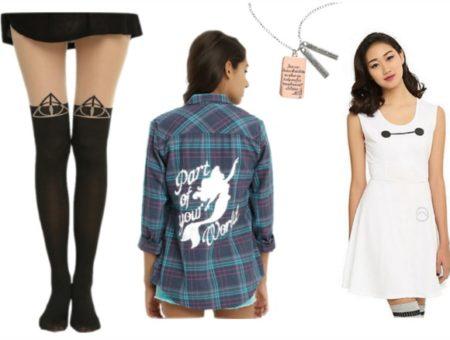 Cute fandom fashion from Hot Topic
