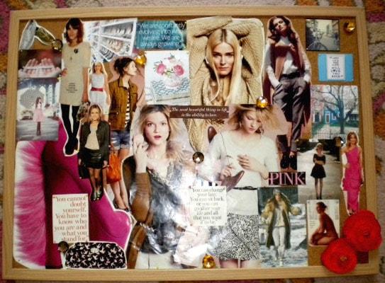Finished Fashion Inspiration Board