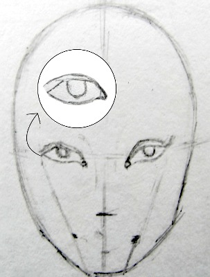 Fashion face step 3
