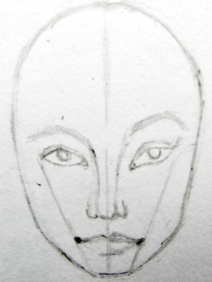 Fashion face step 4
