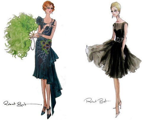 Fashion file illustrations