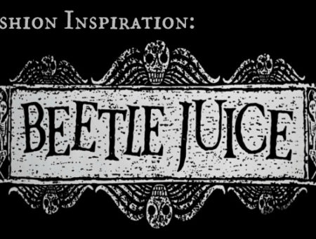 fashion inspiration beetlejuice