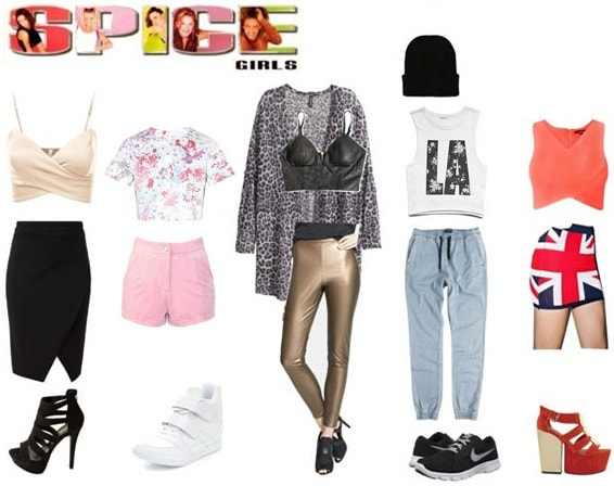 Spice Girls Fashion
