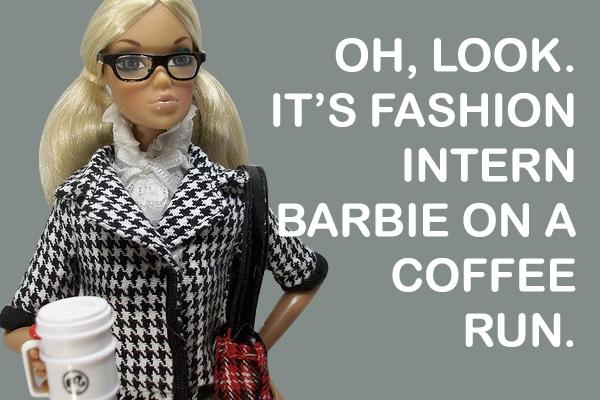 Fashion Intern Barbie