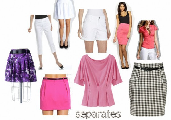 Fashion Under 25 Dollars: Separates Inspired by Christian Dior